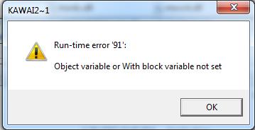 Lỗi runtime 91 không chơi được game pikachu