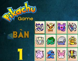 Tải game Pikachu cổ điển 9 cấp độ